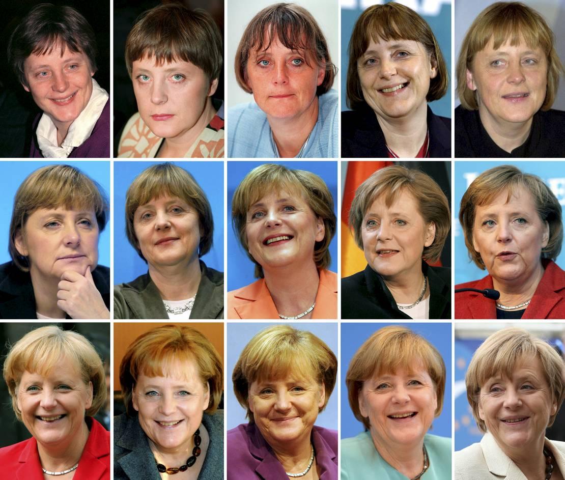 Kinder Angela Merkel