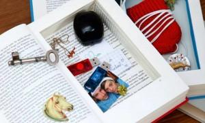 Geheimfach im Buch - So kannst du Lieblingsstücke verstecken (Bilder: Florian Gobetz_ graphic-to-go.de)