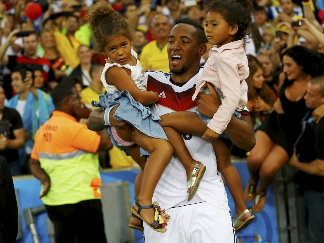 Photo of Jérôme Boateng & his   Soley Boateng