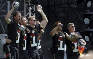 Germany Soccer WCup Arrival