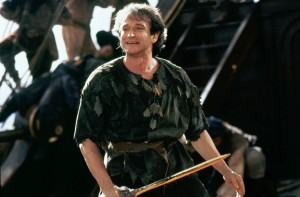 Robin Williams als Peter Pan (Bild: dpa)