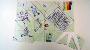 Dein selbstgemaltes Bild als Puzzle (Foto: Seiter)
