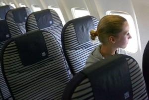 Andere haben Angst davor, mit dem Flugzeug abzustürzen. (Bild: dpa)