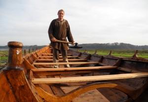 Bald testet Zausch sein Boot zum ersten Mal im Wasser. (Bild: dpa)