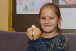 Pauline, 9, Geld (Bild: Martina Goyert)