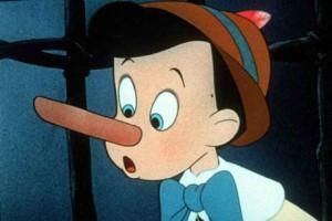 Huch, die Nase wächst! (Bild: dpa)