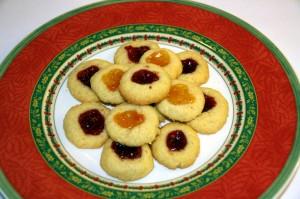 Kekse im Teller