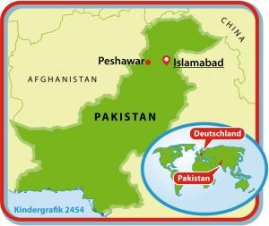 Kindergrafik:Karte Pakistan (16.12.2014)