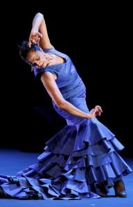 Stolz und elegant: die Flamencotänzerin Carmen Cortes