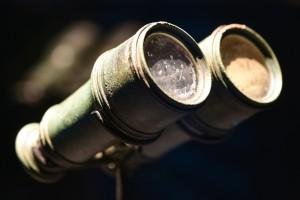 Dieses Fernglas wurde in der gesunkenen Titanic gefunden. (Foto: dpa)