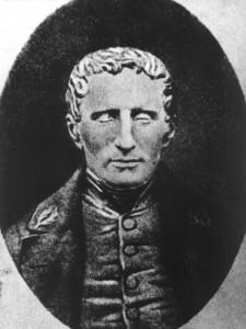 Louis Braille erblindete im Alter von drei Jahren - später entwickelte er die bekannte Blinden-Schrift. (Foto: dpa)