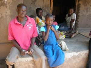 Hanna mit ihrer Familie (Foto: dpa)