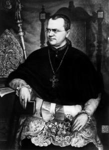 Gregor Mendel entdeckte vor fast 150 Jahren, wie Lebewesen ihre Merkmale an ihre Nachkommen weitergeben. (Foto: dpa)