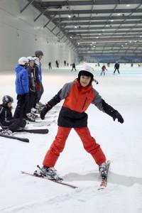 Metehan will später auch Tricks auf Skiern lernen. (Foto: dpa)
