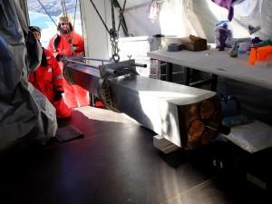 """So sieht er aus, der """"Ice-Mole"""", also der Eis-Maulwurf. (Foto: dpa)"""
