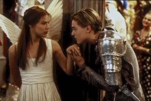 Claire Danes und Leonardo DiCaprio im Film 1996