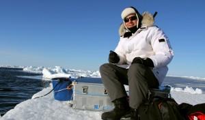 Drei Wochen lang ging Forscher Jens Koblitz jeden Tag auf die Suche nach Walen. (Privat/Jens Koblitzer)