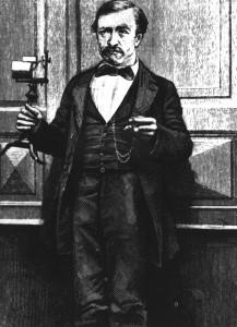 Philipp Reis konstruierte das erste Telefon. (Foto: dpa)