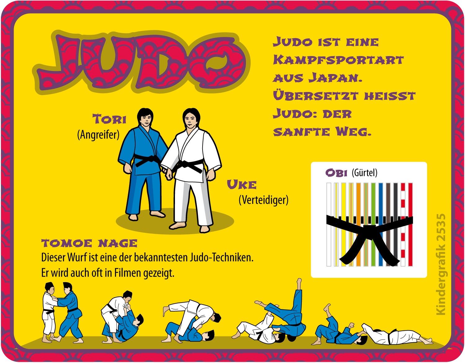 6355cf3ed66af Judo ist Kämpfen ohne sich weh zu tun
