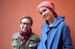 Lea Schmidbauer und Kristina Magdalena Henn sind Drehbuchautorinnen. (Foto: dpa)