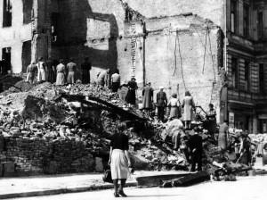 Nach dem Krieg hatten viele Leute kaum etwas zu essen. (Foto: dpa)