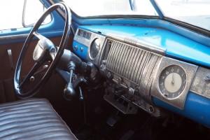 Das Taxi ist schon 67 Jahre alt. (Foto: dpa)